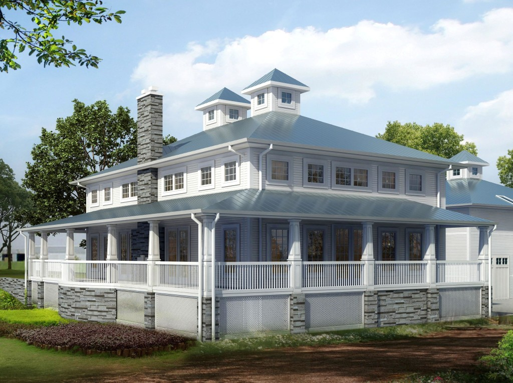 model home image